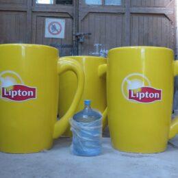 Самая Большая Кружка Из Стеклопластика Lipton