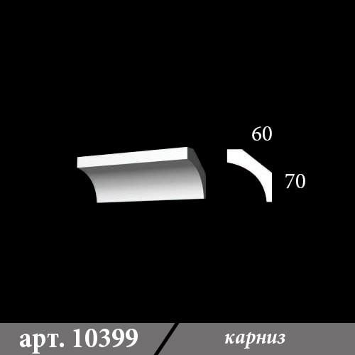 Гипсовый карниз 60х70х1000
