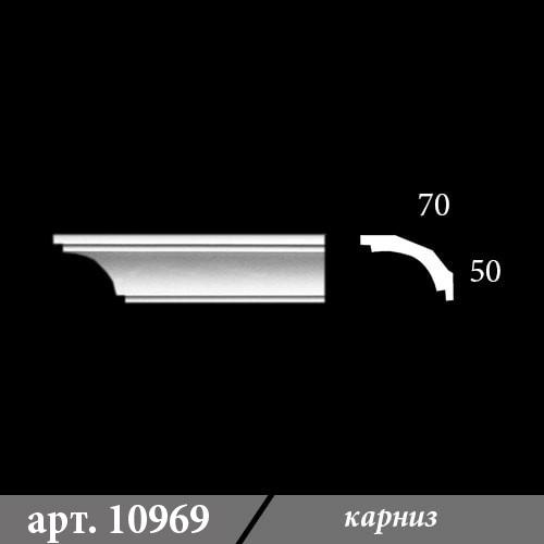 Гипсовый Карниз 70Х50Х1000