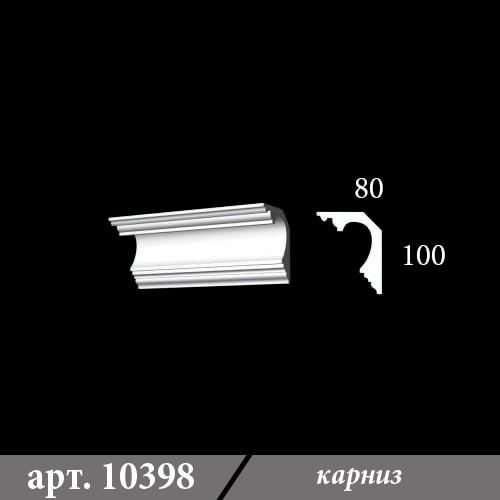 Гипсовый Карниз 80Х100Х1000