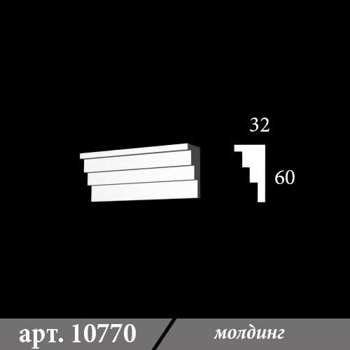 Гипсовый Молдинг 32Х60Х1000