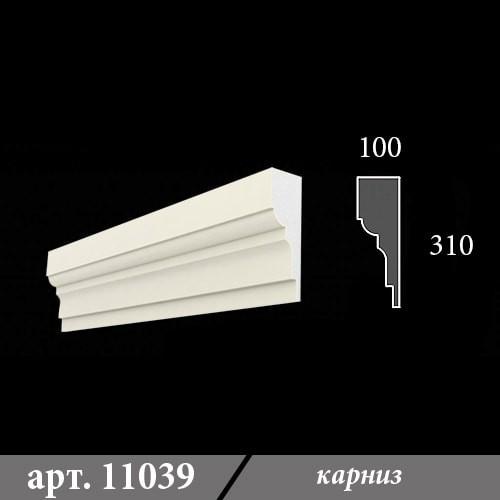 Карниз Из Пенопласта 100Х310Х1000