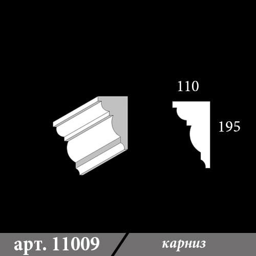 Карниз Из Пенопласта 110Х195Х1000
