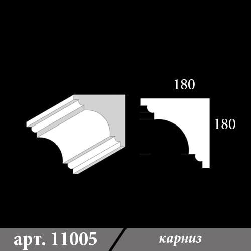 Карниз Из Пенопласта 180Х180Х1000