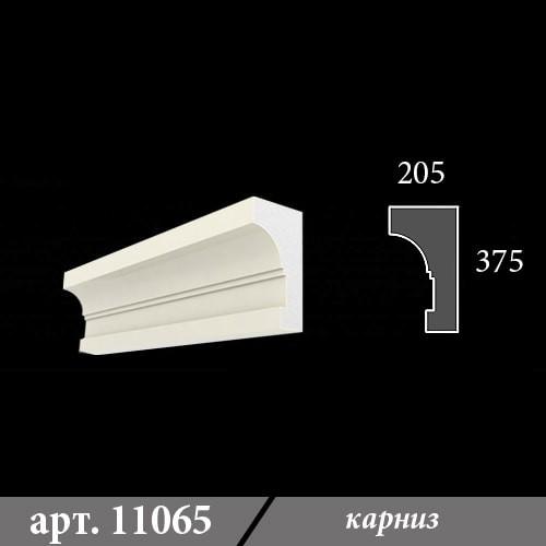 Карниз из пенопласта 205х375х1000