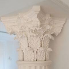гипсовая капитель колонны d200 - 220
