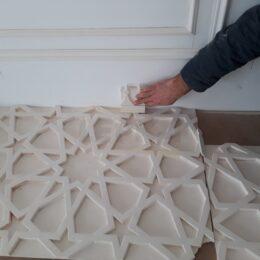 Vostoznaya Lepnina Na Stenah Potolkkah Karniz 3D Paneli S Ustanovkou Kartinki Foto Portfolio003