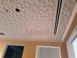 Гипсовые панели на потолке фото
