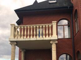 Kolonna Iz Polimerbetona Balkon Balasina