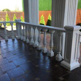 Ballysinu dlya balkonov terras s ustanovkou pod kluz007