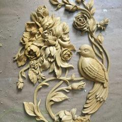Модель ПАННО «Гортензия» на стену