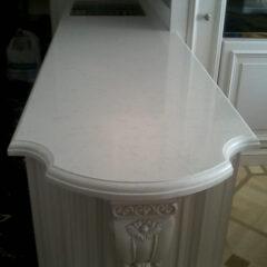 Кухонная столешница кварцит под ключ