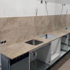 Кухонная столешница мрамор Bursa Beige