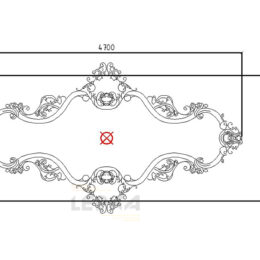 Декор ниши на полке дизайн чертеж