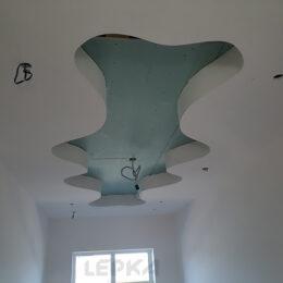 Декор Ниши На Полке До Установки Потолок Фото