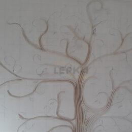 Панно Дерево На Стене Первый Слой Фото