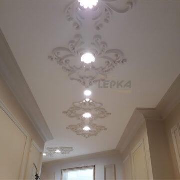 дизайн с ремонтом квартиры светильник потолочный фото