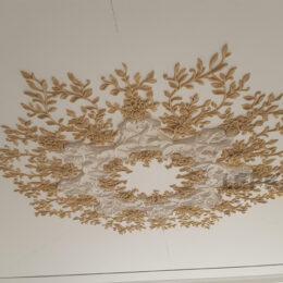 Потолок розетка под заказ люстры