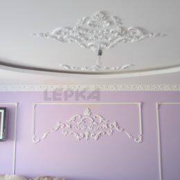 Покраска Комнаты С Лепниной