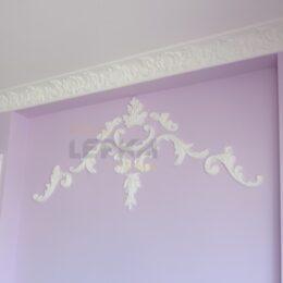 Декор На Стене С Покраской