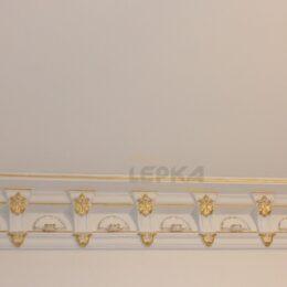 Позолота Лепнины Из Гипса Карниз С Декором