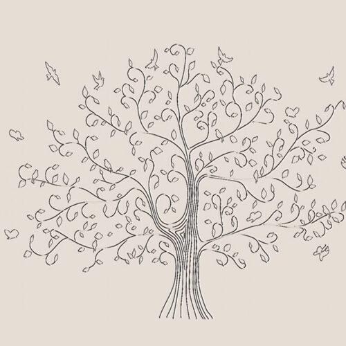 Гипсовое Панно На Стене Дерево С Птичками Чертежи