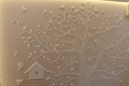 Гипсовое Панно На Стене Дерево С Птичками Декор Стены Веточки Фото Под Заказ